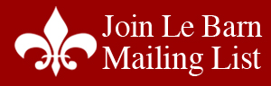 Click to join the Le Barn Mailing List (web signup form)