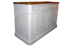 14 DISTRESS PAINTED CABINET